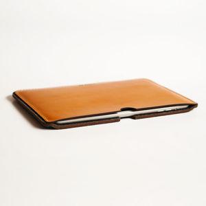 Personalised Leather / Wool Sleeve iPad Mini / Retina - technology accessories
