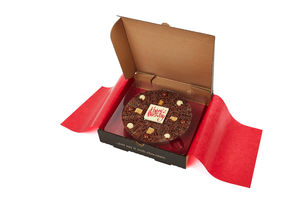 Happy Birthday Chocolate Pizza - food & drink gifts