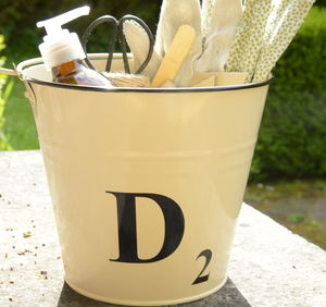 Personalised Gardeners Gift Bucket - garden sale