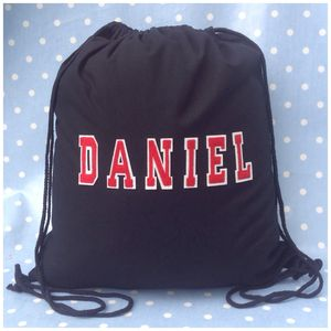 Personalised Pe Kit Pump Bag