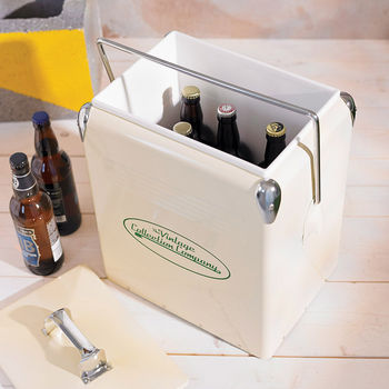 Retro Style Cooler Box