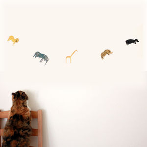 Animal Parade Garland Kit - children's room