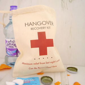 Hangover Recovery Kit Bag - hen party gifts & styling