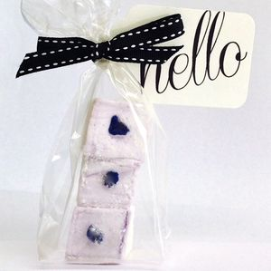 Creme De Violette Marshmallow Wedding Favours - wedding favours