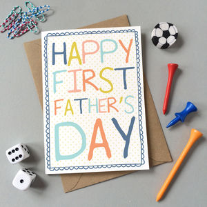 First Father's Day Card - shop by category