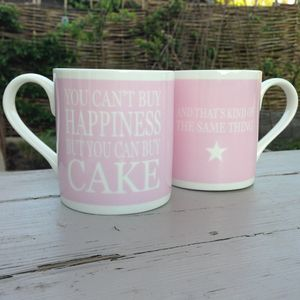 Mug 'You Can't Buy Happiness…Cake'
