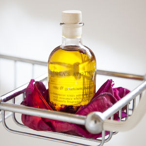 Rose And Geranium Bath Oil - bath & body
