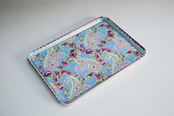 Rose And Paisley Snack Tray