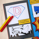 Personalised Why Daddy Is My Hero Activity Book
