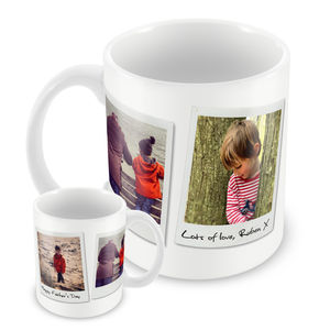 Personalised Mug, Polaroid Photo