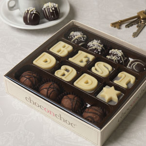 Best Dad Chocolate Truffles - sweet treats
