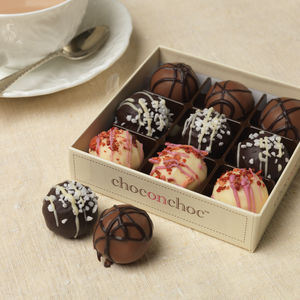 Delicious Truffles Gift Box - food gifts