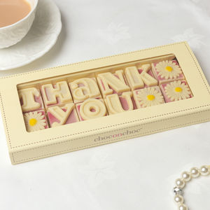 Thank You Chocolates - food gifts