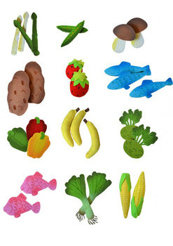 Felt Fruit And Vegetables
