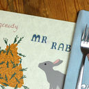 Animal Character Placemat