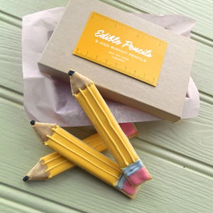 Pencil Biscuits