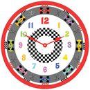Racing Car Clock