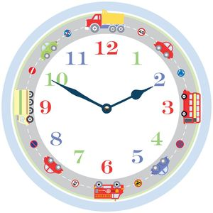 Transport Clock - page boy gifts