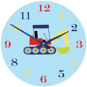 Digger Clock - page boy gifts