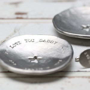 Men's Personalised Tidy Tray - cufflink boxes & coin trays