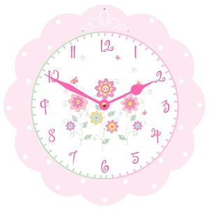 Princess Clock - children's room accessories