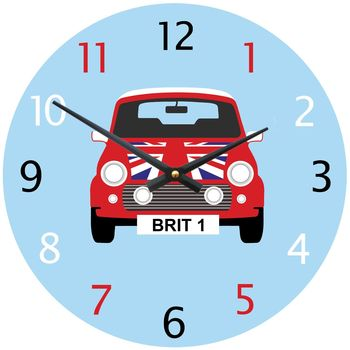 Personalised Mini Clock