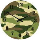 Camouflage Clock