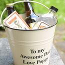 Personalised 'Boozy' Gift Bucket