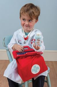 Wooden Doctors Set - pretend play & dressing up