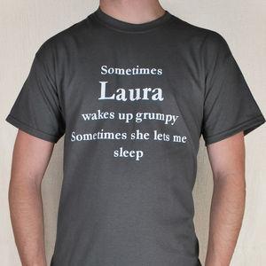 Sleep In T Shirt