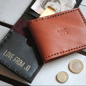 Leather Wallet - money clips