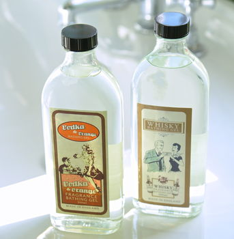 'Boozy' Toiletries