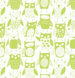Owls Wallpaper Sample - baby's room