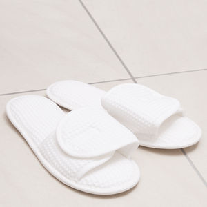 Tivoli Wrap Cotton Slippers - women's fashion
