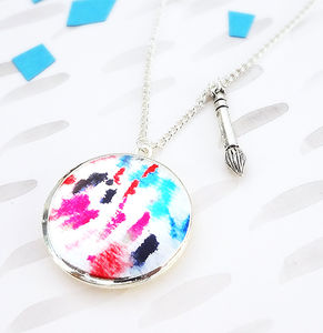 Artist Locket Necklace