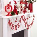 Merry Christmas Wooden Garland