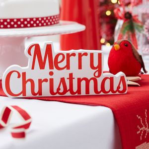 Merry Christmas Sign - decorative accessories