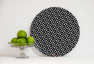 Black Spots Tray - tableware