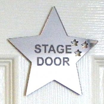 Personalised Stars Out Of Star Mirror