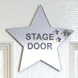 Personalised Stars Out Of Star Mirror - living room