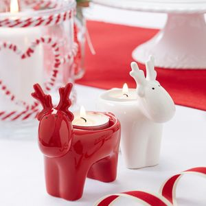 Reindeer Tea Light Holder - candles & candlesticks