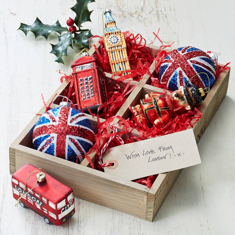 great british christmas tree decorations - British Christmas Tree Decorations