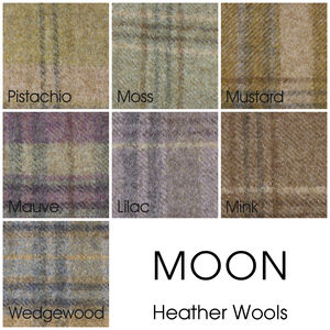Abraham Moon Wool Sample - throws, blankets & fabric