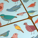 Bird And Floral Placemats Set Of Four