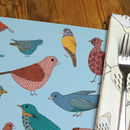 Bird And Floral Placemat