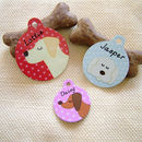 Id tags for dogs personalised