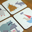 Animal Character Coaster