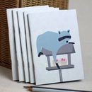 Mr Racoon Small Notebook