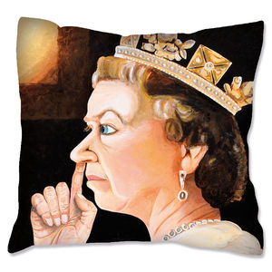 Queen Artwork Print Cushion Cover