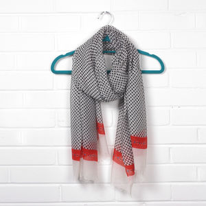 Flamenco Scarf - hats, scarves & gloves